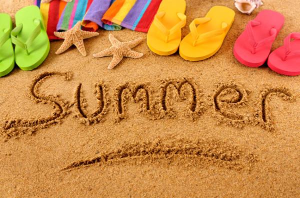 Summer on a beach